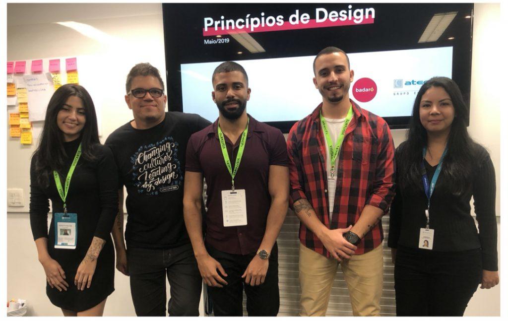 design system atech embraer badaro design equipe user experience
