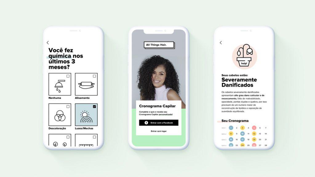 aplicativo unilever design_interface_produto_digital_unilever_badaro_case_sucesso